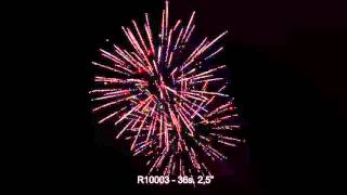 Fajerwerki R10003 Bateria/Cake 36s. 2,5
