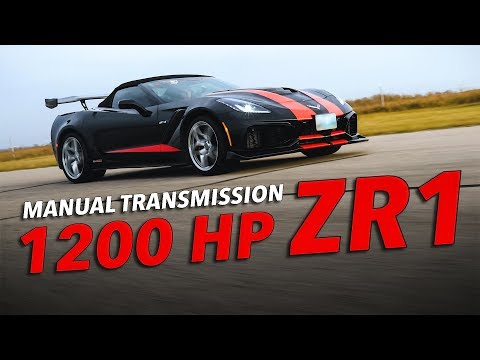 1200 HP Corvette ZR1 (Manual) By Hennessey Performance