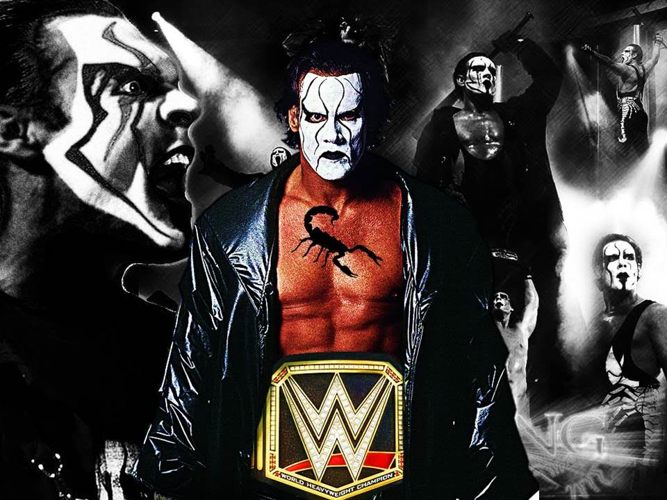 The Joker Animated Wallpaper Should Sting Win The Wwe World Heavyweight Championship