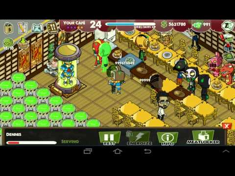 New Zombie Cafe Unlimited Toxins