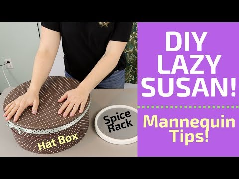DIY Lazy Susan 'Spice Rack' Tutorial | eBay Clothing Mannequin Tips!