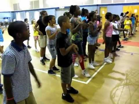 Freedom School Harambee Time at The Grove