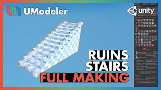 Ruins : Stair - UModeler Tutorial