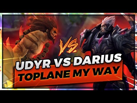 MY WAY 8.13 UDYR VS DARIUS TOPLANE - Trick2G