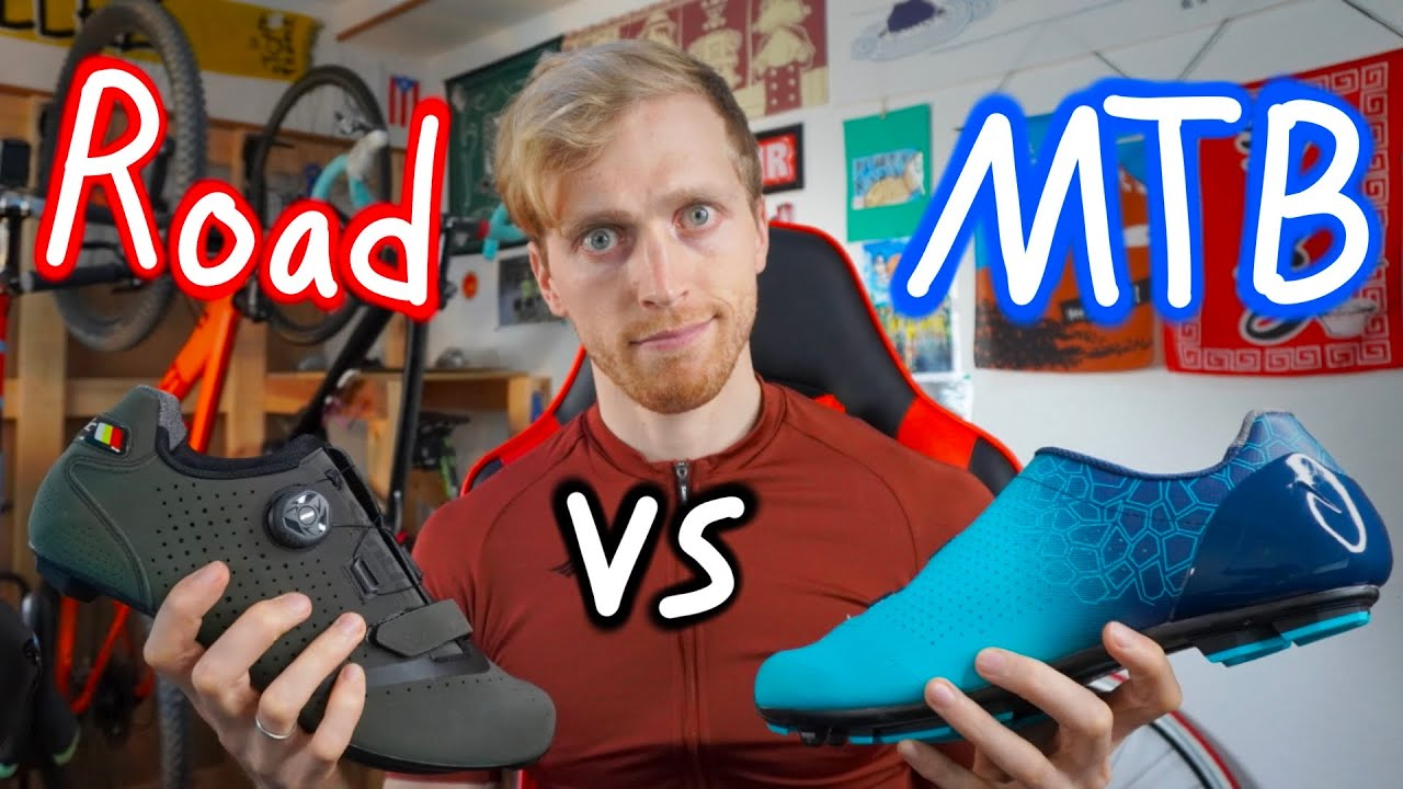 Road VS MTB Shoes - Which Are Best