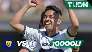 ¡Golazo de Sebastián Saucedo en su debut! | Pumas 1 - 0 Pachuca | Liga Mx - CL 2020 J1 | TUDN