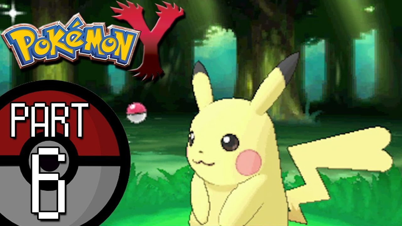 Pokemon X And Y Part 6 Santalune Forest Catching A Rare Light