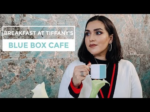 Breakfast At Tiffany's // Blue Box Cafe