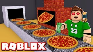 OUR OWN PIZZA MANUFACTURE in ROBLOX !!