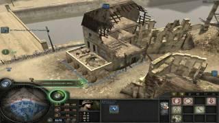 Company of Heroes Carentan Counterattack: Setup Defenses
