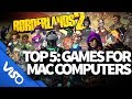 Top 5: Games For Mac Computers