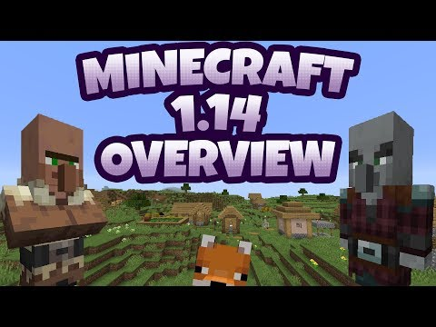 Minecraft 1.14 - Everything You Need To Know!