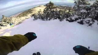 Ski Vermont - GoPro Vermont Skiing 2014 1080p