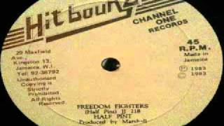 Half Pint - freedom fighters (HIT BOUND - 1983) 12inch