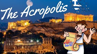 Athens, The Acropolis. Visit to Greece