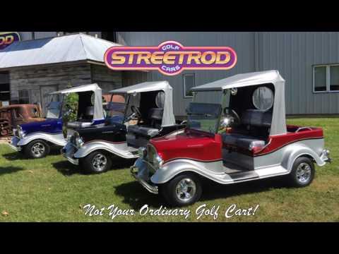 Streetrod Golf Cars Video - YouTube
