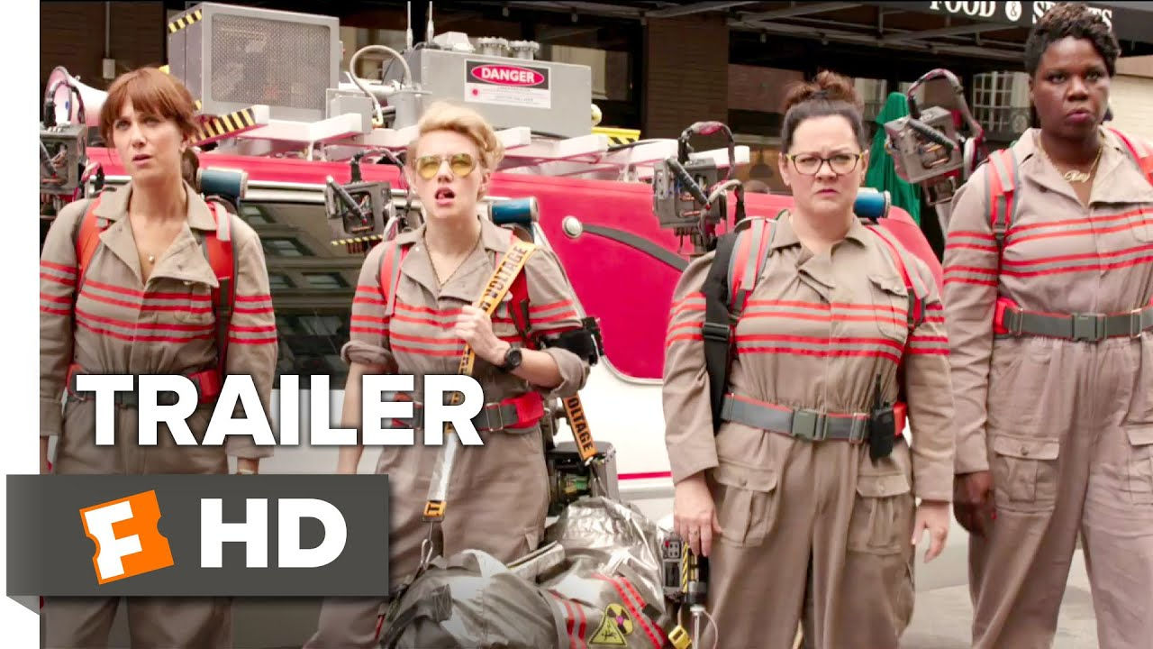 Ghostbusters Official Trailer #1 (2016) - Kristen Wiig, Melissa McCarthy Movie HD