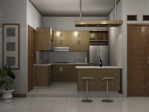 Desain Rumah Minimalis Dapur Di Depan  desain letak dapur dan kamar mandi yang singkron masa kini