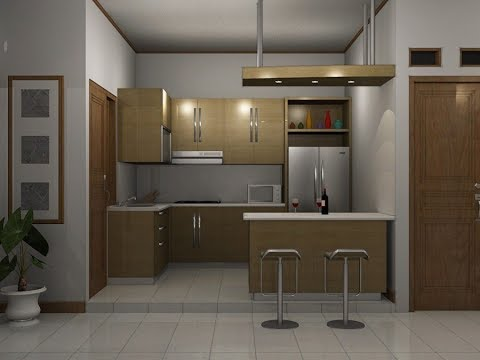 Desain Letak Dapur Dan Kamar Mandi Yang Singkron Masa Kini Youtube