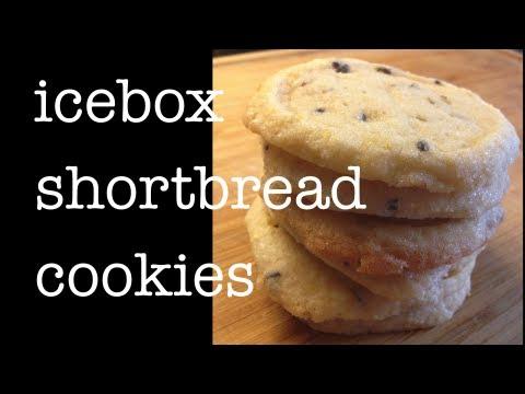 Icebox Shortbread Cookie Recipe