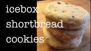 Icebox Shortbread Cookie Recipe