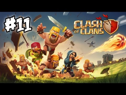 Clash of Clans #11 - Builders Complete! A VERY Close Clan Attack!