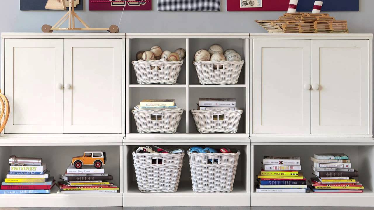 Enjoy Sufficient Storage Space with this Kids Storage Unit | Pottery ...