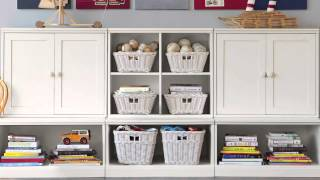 Enjoy Sufficient Storage Space With This Kids Storage Unit | Pottery Barn Kids