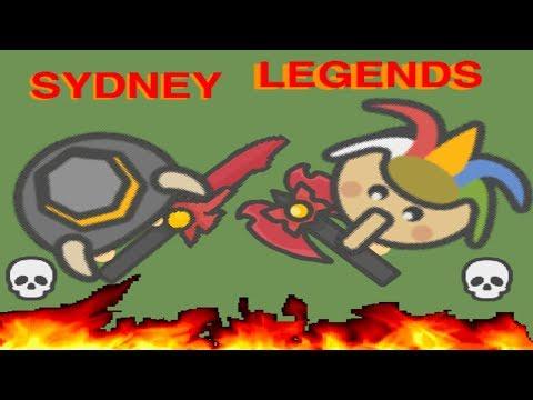 Moomoo.io the tale of Old Sydney Legends