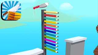 Slice It All - All Levels Gameplay Android,ios (Levels 1-9) screenshot 3