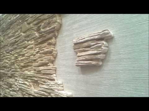 Отделка декоративным камнем в квартире своими руками фото