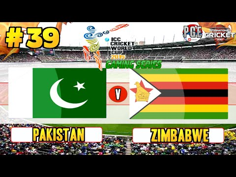ICC Cricket World Cup 2015 (Gaming Series) - Pool A Match 39 Pakistan v Zimbabwe