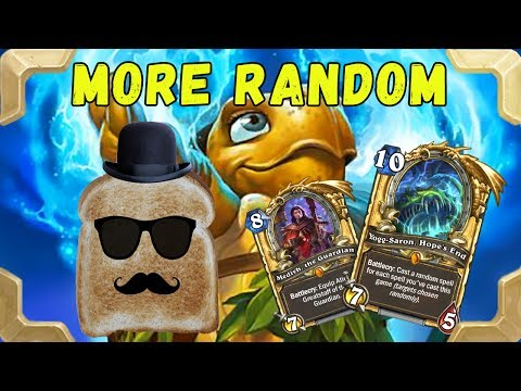 Disguised toast  in ladder with Tortollan Yogg Mage (Journey to Un'Goro)
