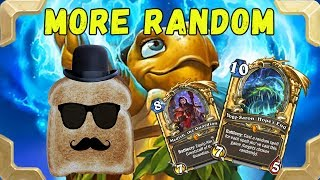 Disguised toast  in ladder with Tortollan Yogg Mage (Journey to Un