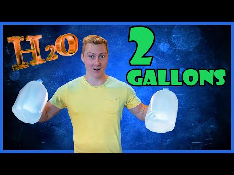I Drank 2 GALLONS Of WATER A DAY For 7 DAYS!! (and This Happened) #2gallonchallenge
