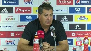 Habla Jorge Da Silva, técnico de América