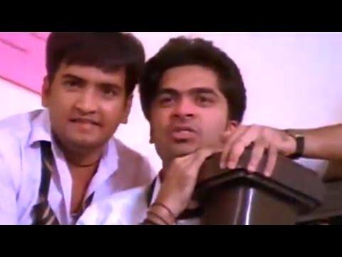 Simbu & Santhanam Comedy Scene at College || Vallabha Movie || Simbu, Nayantara, Reema Sen