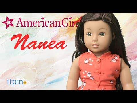 American Girl BeForever Nanea Doll With Book & Hula Outfit From American Girl