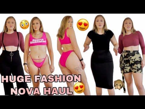 Huge Try On Haul   Fashion Nova   Hannah Garske