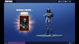 ALL NEW ITEM SHOP UPDATE 6-16 (OMEN skin) Fortnite Battle Royale Season 4