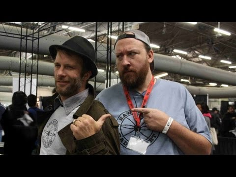 ComicCon DrawOff with Thomas Jane and Artist Tim Bradstreet!