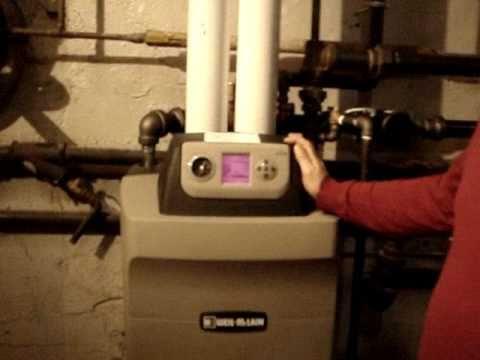 weil mclain ultra 399 high efficiency condensing boiler - YouTube