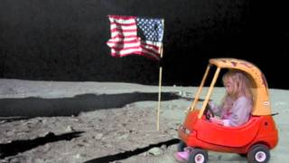 danielles driving on the moon