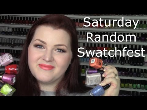 Saturday Random Swatchfest 5/20/2017