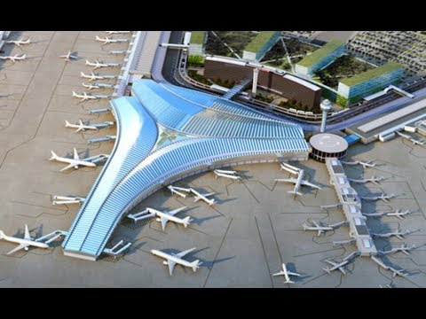 Global Terminal And Concourse At Chicago's O'Hare Airport By Studio Gang