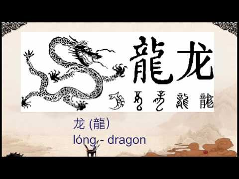 Chinese Characters Explained 1: Ones That Look Like Things