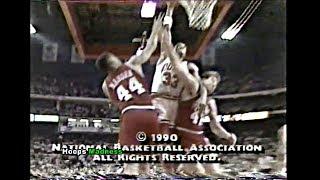 Scottie Pippen Dunks on 2 Big Guys Mike Gminski & Rick Mahorn! thumbnail