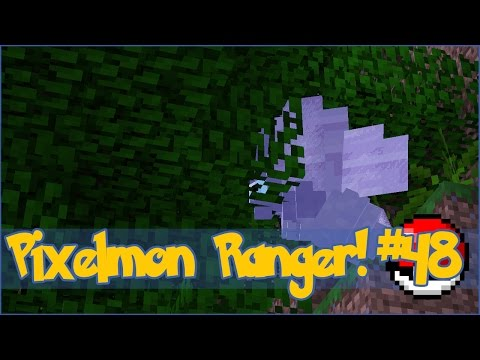 Pixelmon Ranger! Collecting Jungle Leaf Stones! - Episode #48