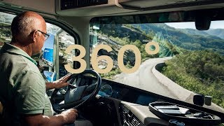 Volvo Trucks - A 360° view from behind the wheel driving through the spectacular Norwegian fjords thumbnail