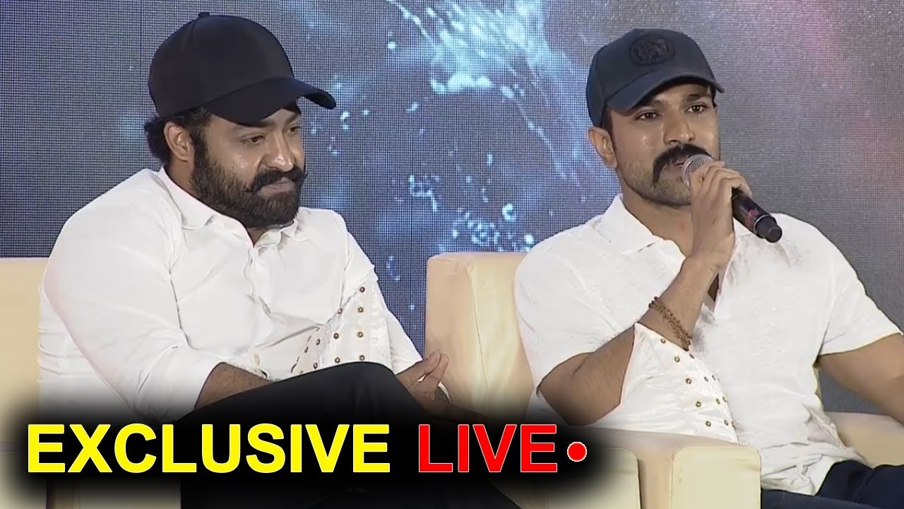 RRR Movie First EVER Press Meet Exclusive LIVE | NTR | Ram Charan | Rajamouli | #RRRPressMeet